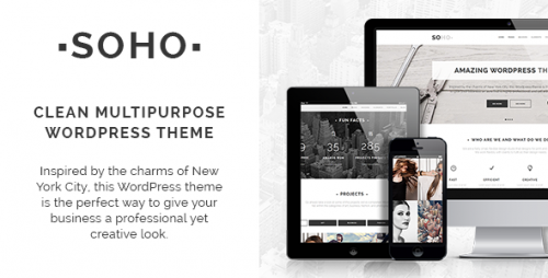 Soho - Clean Multi-Purpose WordPress Theme