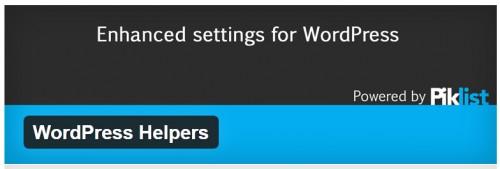 WordPress Helpers