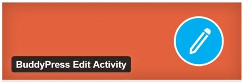 BuddyPress Edit Activity