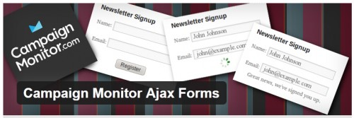 Campaign Monitor Ajax Forms