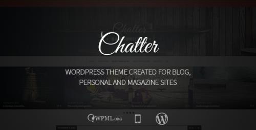 Chatter - Responsive WordPress Blog Theme