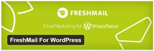 FreshMail For WordPress