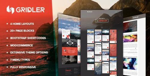 Gridler - Masonry Blog & Portfolio WordPress Theme