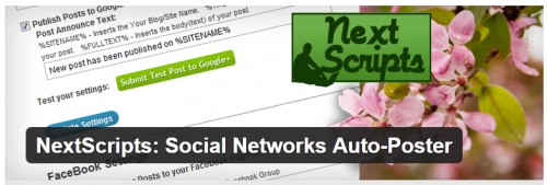 NextScripts - Social Networks Auto-Poster
