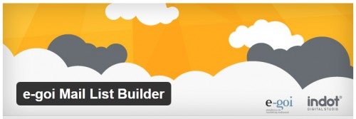 e-goi Mail List Builder