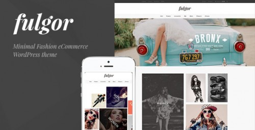 Fulgor - Minimal Fashion eCommerce WordPress Theme