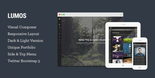 Lumos - Multipurpose Single/Multi-page WP Theme