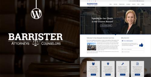Barrister - Responsive Law Business WordPress Theme