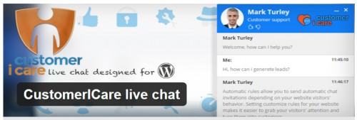 CustomerI Care Live Chat