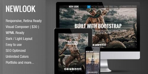 New Look - Onepage Responsive WordPress Theme