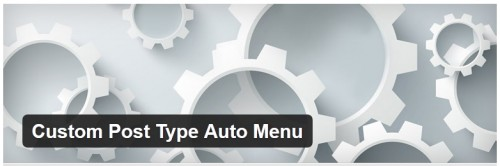Custom Post Type Auto Menu