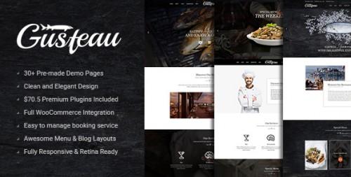 Gusteau - Elegant Food and Restaurant WordPress Theme