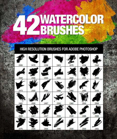 42 Handy Watercolor and Paint Brushes 2016