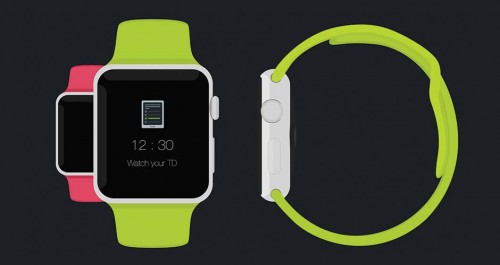 Apple Watch - Free Psd Flat Mockup