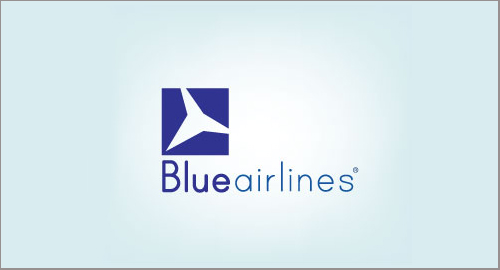 Blue Airlines Logo