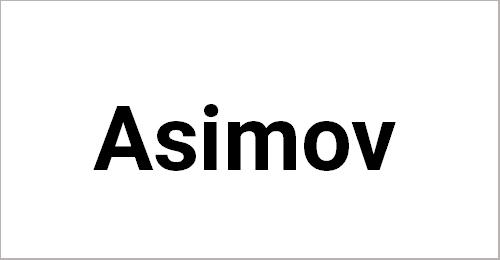 Asimov Font