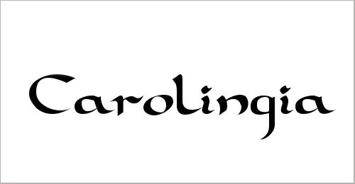 Carolingia Font