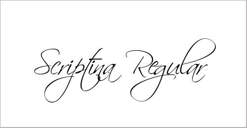 Scriptina Font