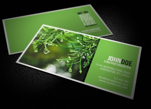 17_Photography Business Card