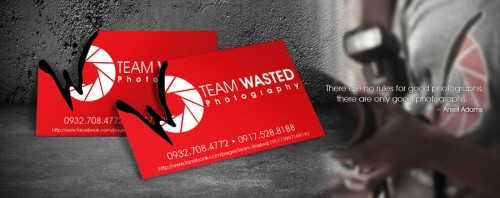 19_Team Wasted Business Card