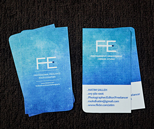 1_FE Photography Business Card