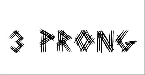 3 Prong Tree Font