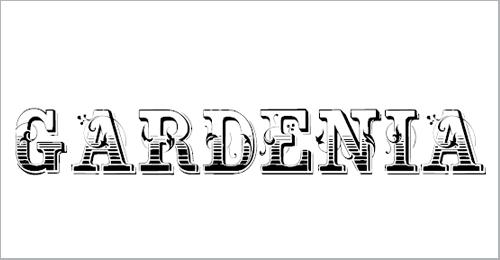 Gardenia Victorian Font