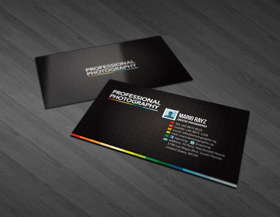 20 Creative Photography Business Cards Designs Pixelpetal
