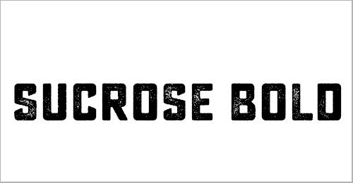 Sucrose Bold Font