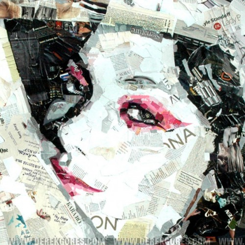 10_Recycled Collage Art of Derek Gores