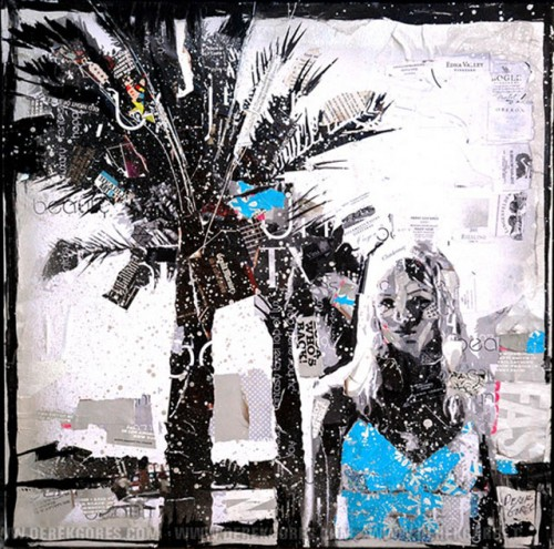 3_Recycled Collage Art of Derek Gores