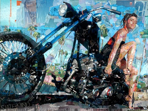 6_Recycled Collage Art of Derek Gores