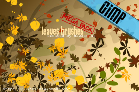 24_GIMP Leaves MEGA PACK