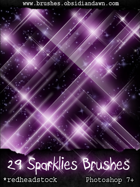 38_GIMP Sparklies Brushes