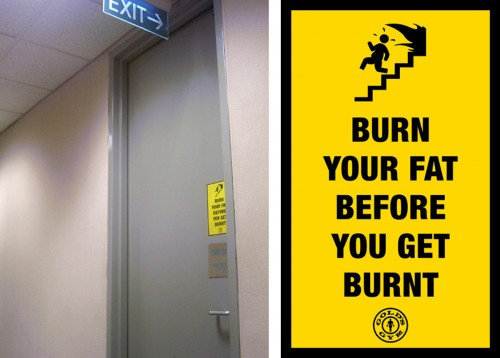 20_Gold's Gym - Emergency Exit