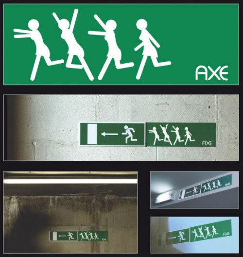 4_Axe - Emergency Exit sign