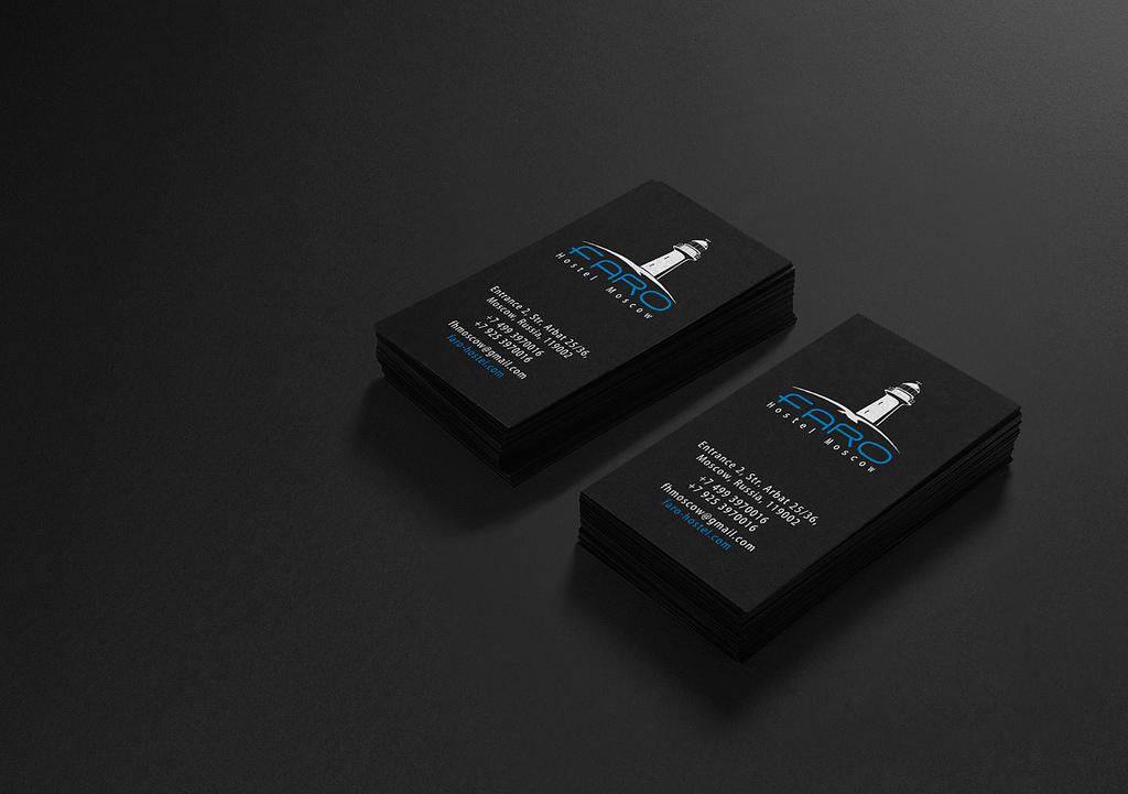 22 Stunning Black Business Cards For Your Inspiration - PixelPetal