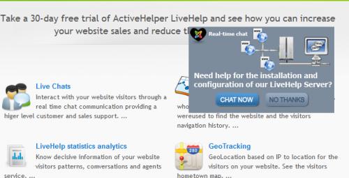 ActiveHelper LiveHelp Live Chat