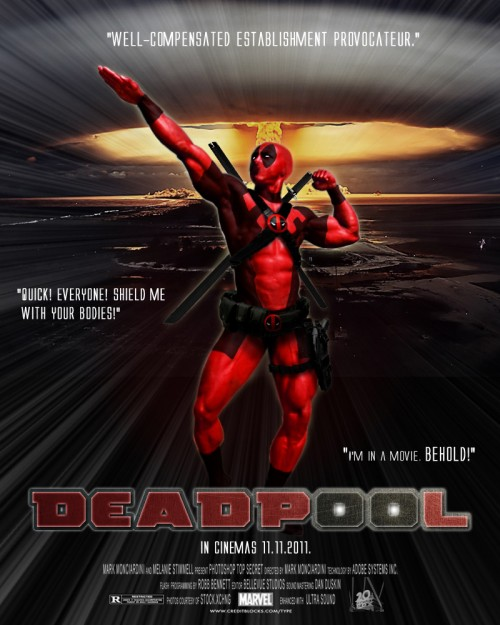Deadpool Movie Poster of Doom
