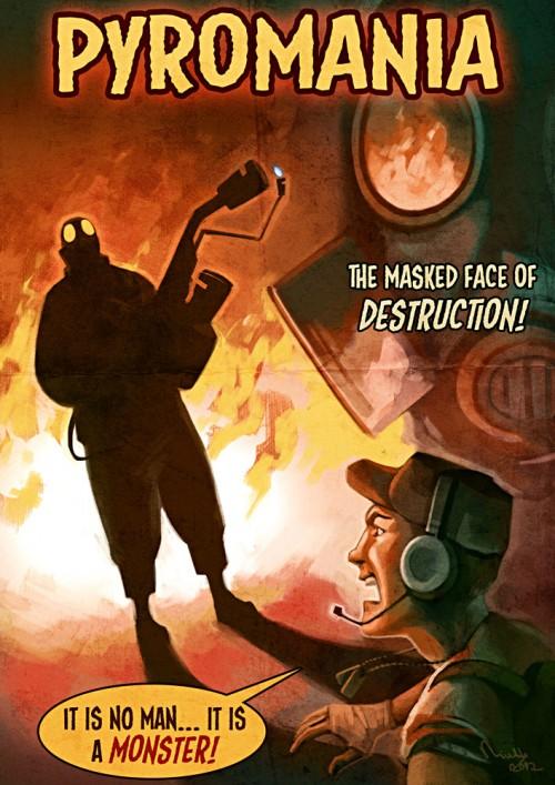 Pyromania - Movie Poster