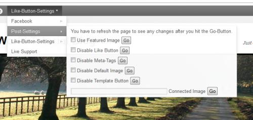 Like Button Plugin For WordPress