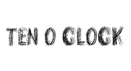 TEN O CLOCK Font