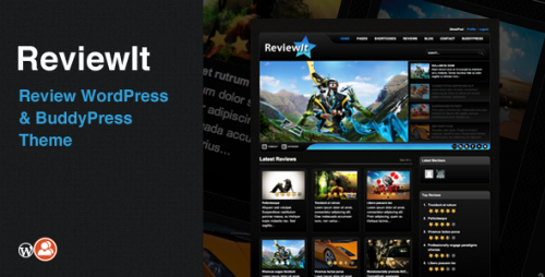 ReviewIt - WordPress & BuddyPress Theme