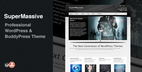 SuperMassive - Professional BuddyPress Theme