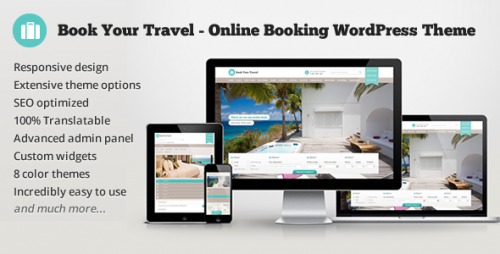 Book Your Travel - Online Booking WP Theme