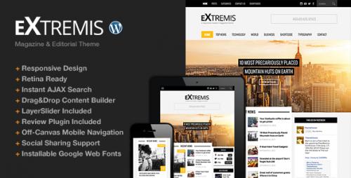 Extremis Responsive Magazine Theme