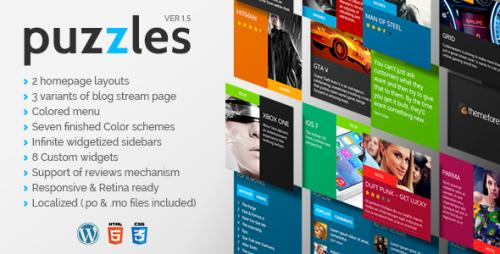 Puzzles - WordPress Magazine Theme