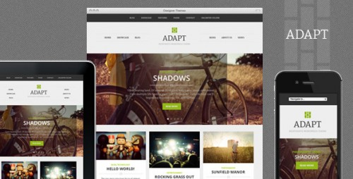 Adapt, Responsive WordPress Theme