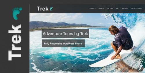 Trek - Responsive WP Travel Theme