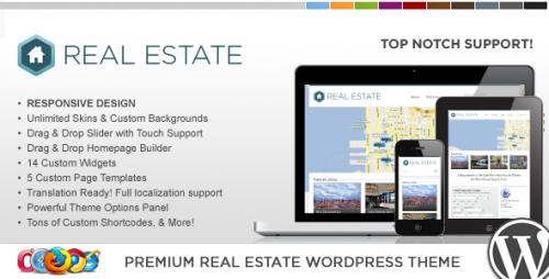 WP Pro Real Estate 3 Responsive WP Theme